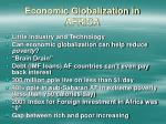 economic globalization in africa