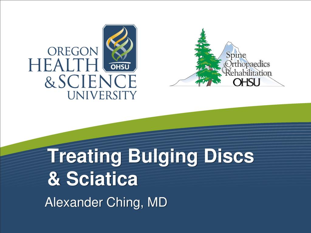 treating bulging discs sciatica l.