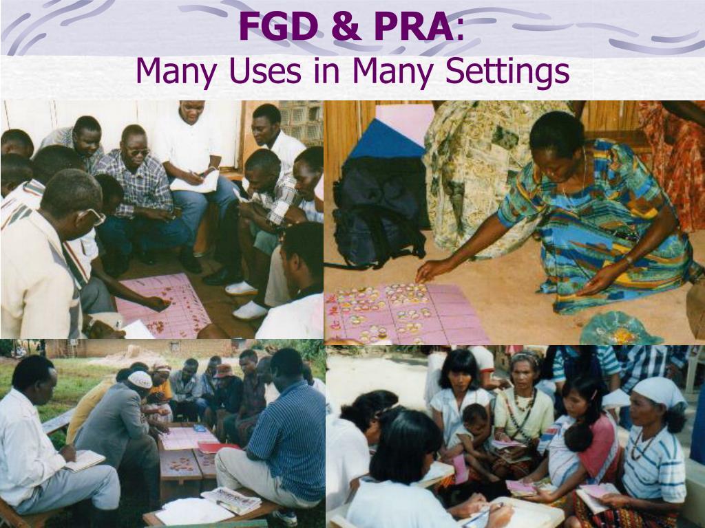 FGD & PRA