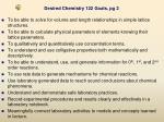 desired chemistry 122 goals pg 2