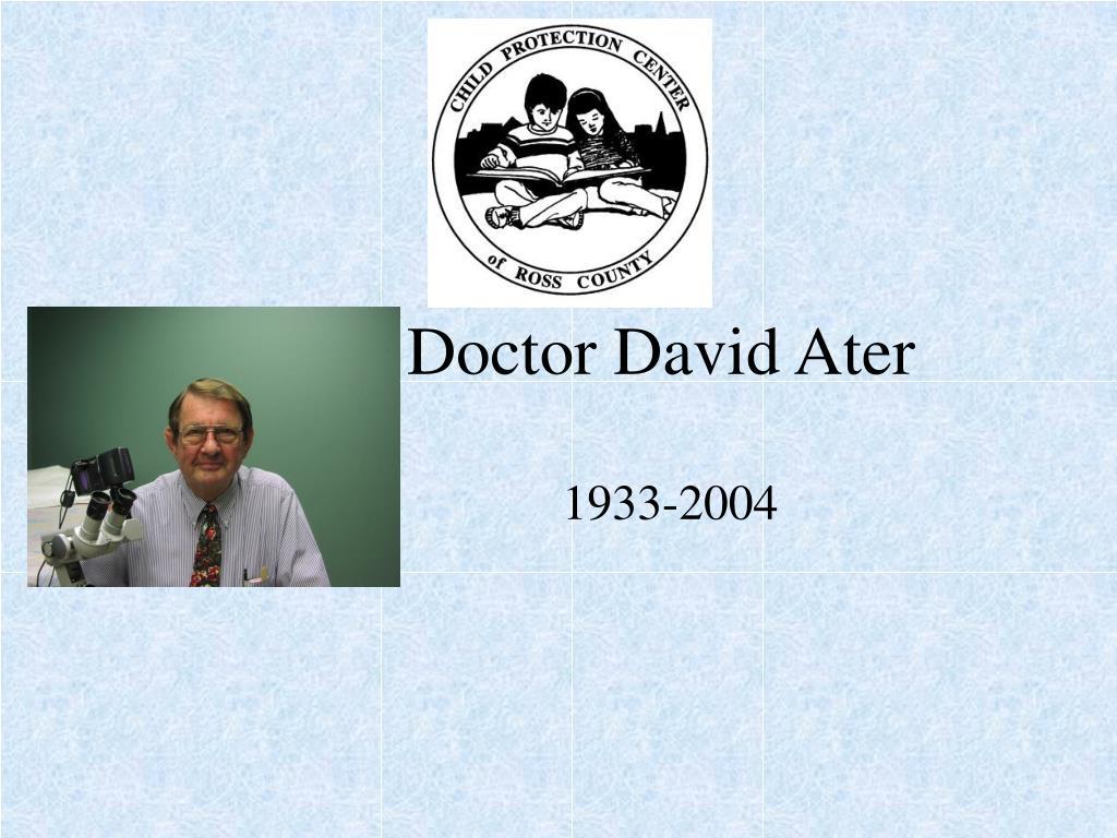 doctor david ater l.