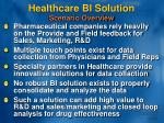 healthcare bi solution
