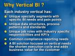 why vertical bi