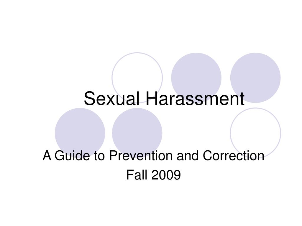 sexual harassment l.