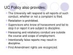 uc policy also provides