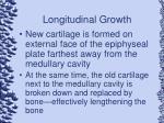 longitudinal growth
