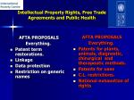 intellectual property rights free trade agreements and public health15