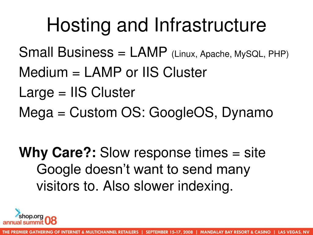Hosting and Infrastructure