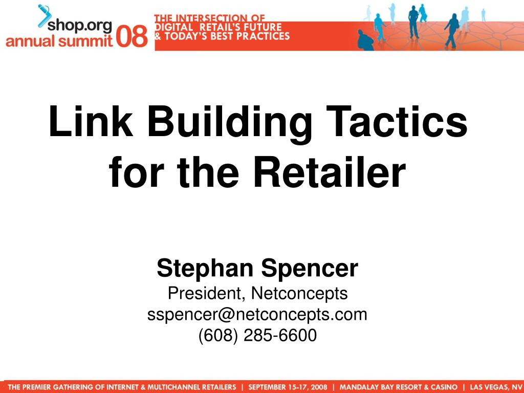 Link Building Tactics for the Retailer