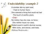 undecidability example 2