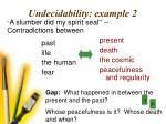 undecidability example 232