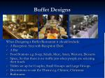 buffet designs