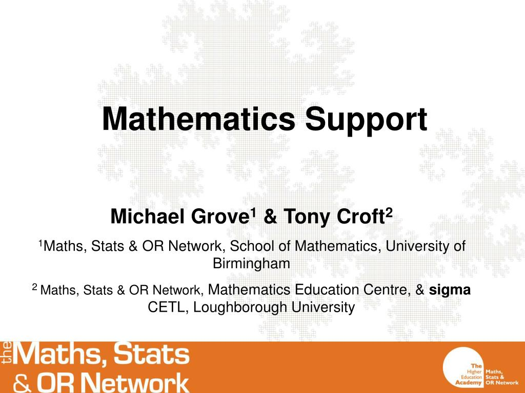 mathematics support l.
