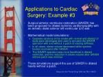 applications to cardiac surgery example 3