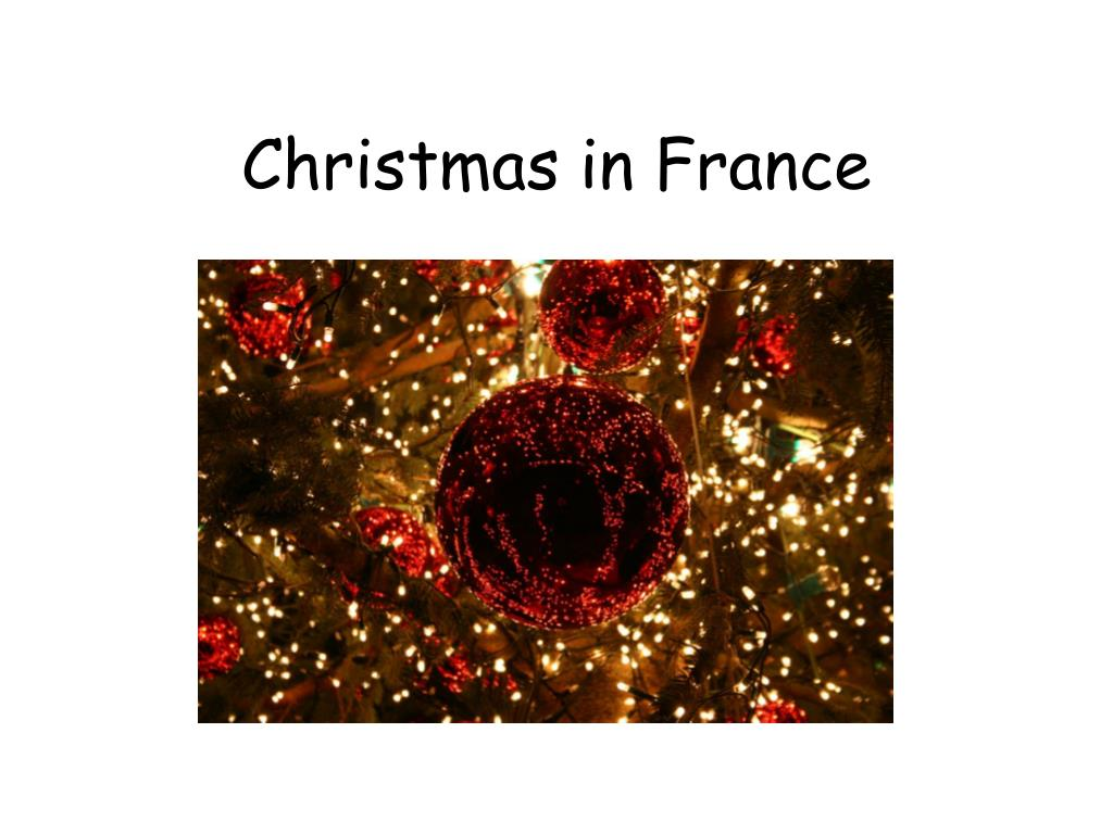 christmas in france l.