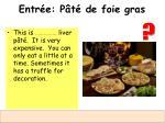 entr e p t de foie gras