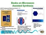 books on microwave assisted synthesis