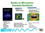 books on microwave assisted synthesis44