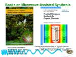 books on microwave assisted synthesis45
