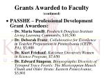 grants awarded to faculty continued1