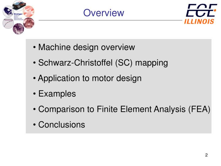 Ppt Investigating The Utility Of Schwarz Christoffel Mapping Theory For Electric Machine Design And Analysis Powerpoint Presentation Id 235385
