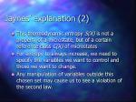 jaynes explanation 2