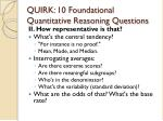 quirk 10 foundational quantitative reasoning questions13