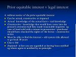 prior equitable interest v legal interest25