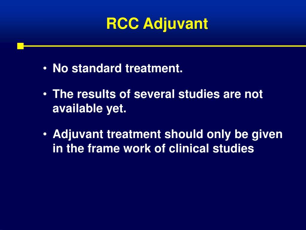 RCC Adjuvant