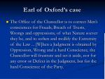 earl of oxford s case