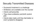 sexually transmitted diseases54