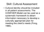 skill cultural assessment
