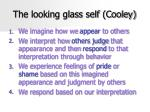 the looking glass self cooley