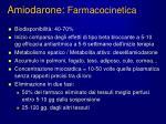 amiodarone farmacocinetica