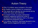 autism theory48