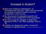 increase in autism46