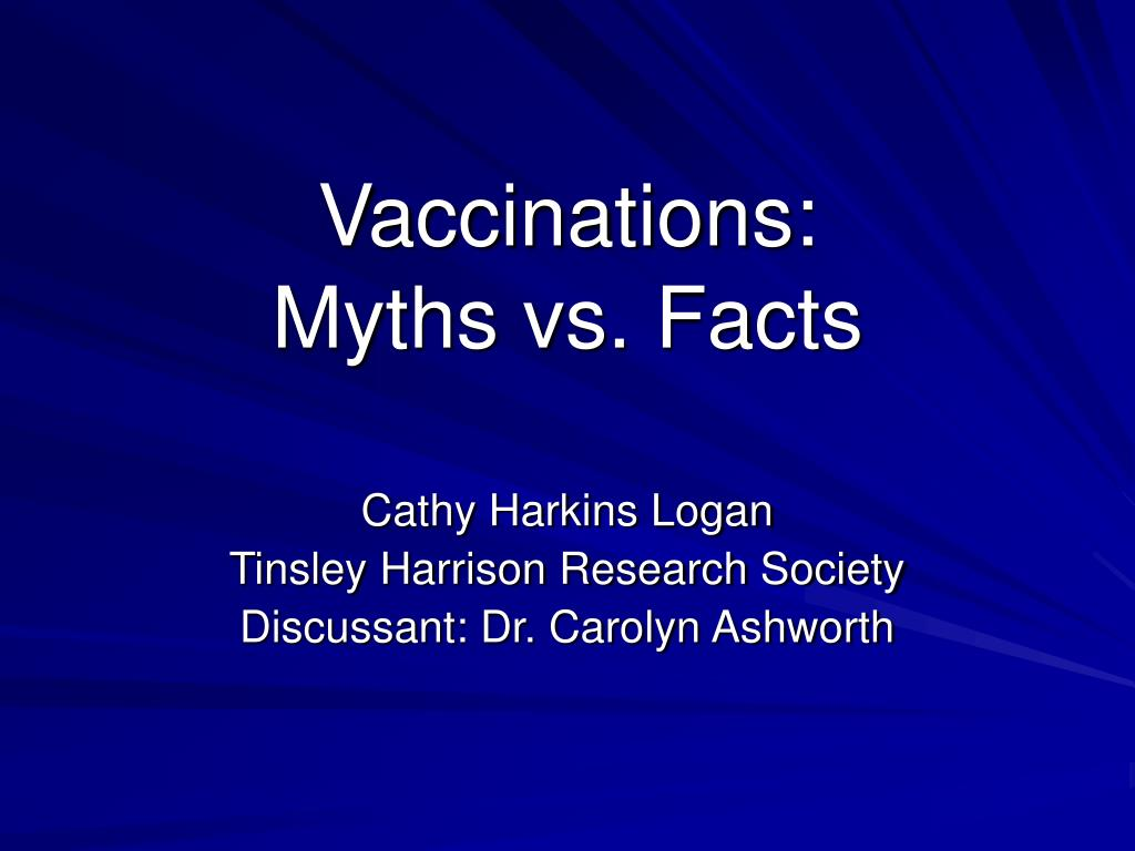 vaccinations myths vs facts l.