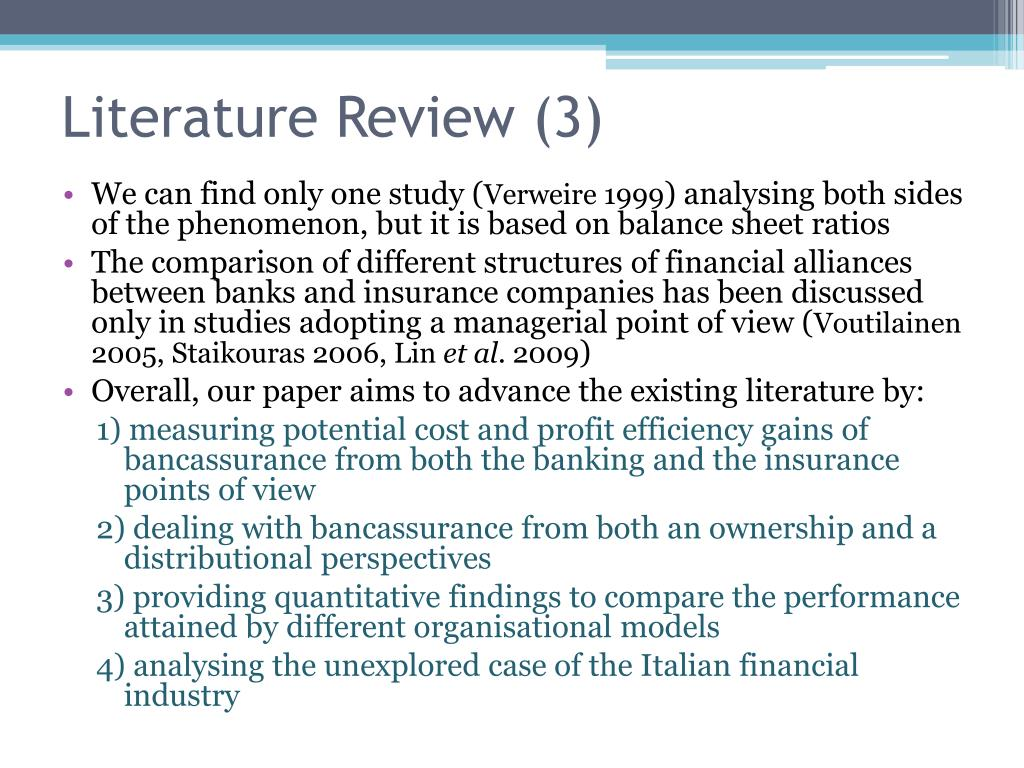 Literature Review (3)