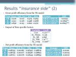 results insurance side 2