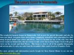 the luxury home in islamorada