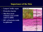 importance of the skin