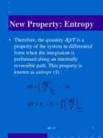 new property entropy