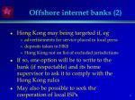 offshore internet banks 2