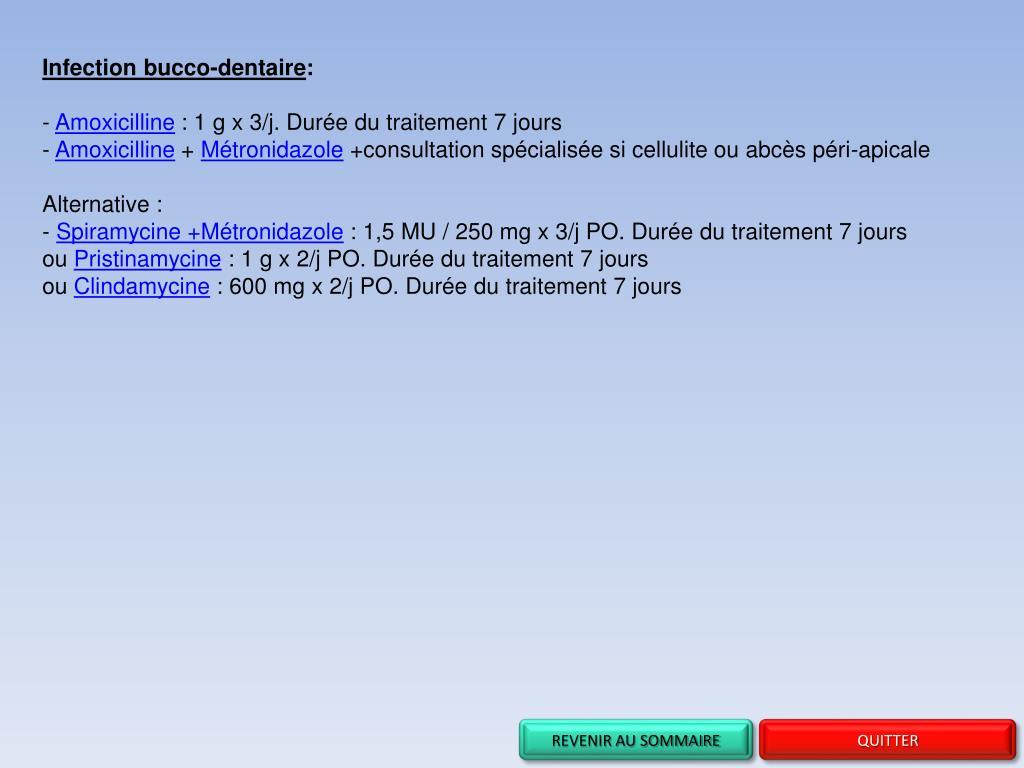 PPT - Recommandations sur l'usage des antibiotiques en