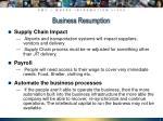 business resumption9