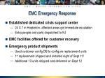 emc emergency response
