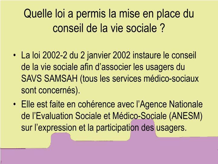 ppt - le conseil de la vie sociale  cvs  powerpoint presentation