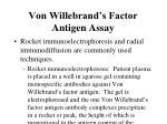 von willebrand s factor antigen assay45