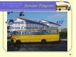 servizio trasporti