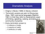 dramatistic analysis